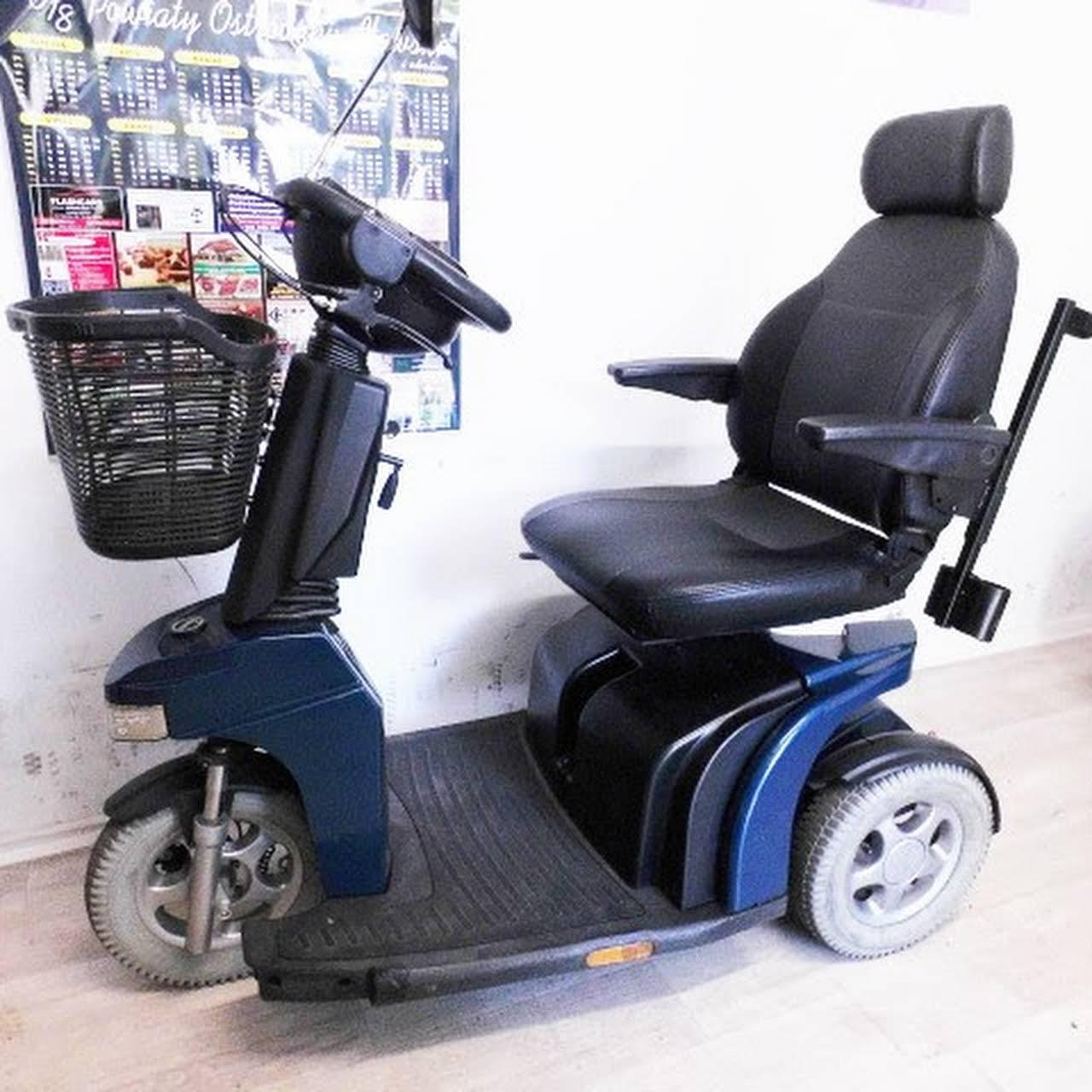Masywnie Skuter elektryczny inwalidzki używany - Sklep Z Wózkami SM44