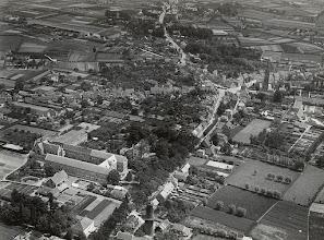 Photo: 1921 Luchtfoto voor de storm van 6 november
