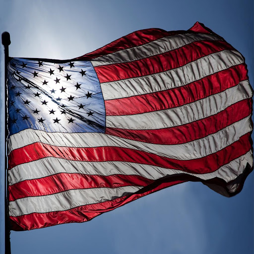 美国国旗 锁屏