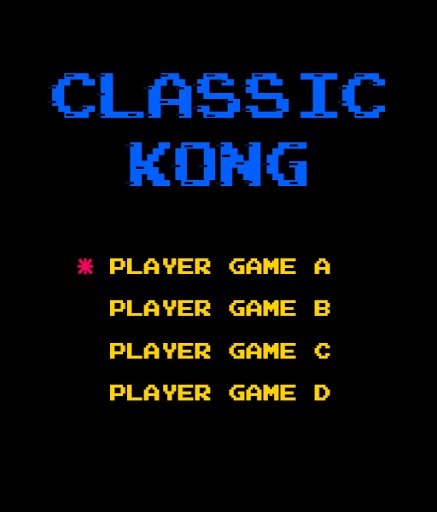 Kong arcade classic modavailable screenshots 1
