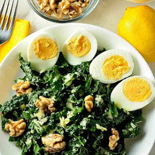 Kale, Manchego Cheese and Walnut Salad Recipe