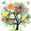 🏵️Flower Coloring Book- Free for Stress Relief🌿 icon