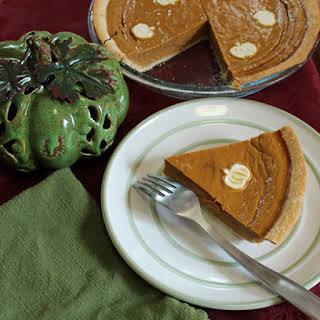 Pumpkin Pie Without Evaporated Or Condensed Milk.