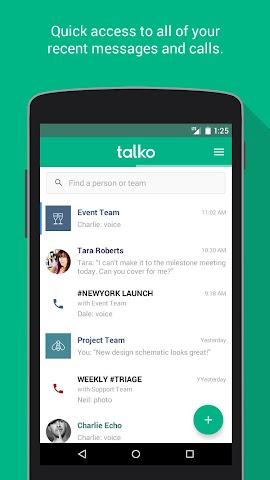 android Talko Screenshot 0