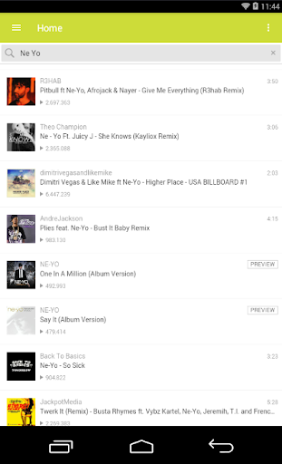 Ne yo All Songs App Report on Mobile Action - App Store