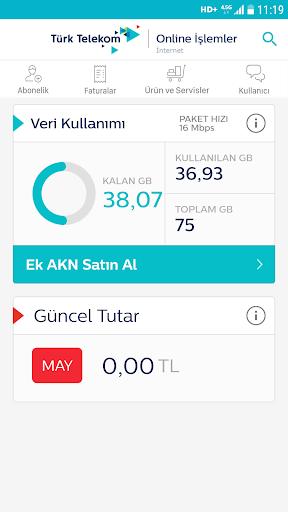 Tu00fcrk Telekom Online u0130u015flemler 6.1 screenshots 3