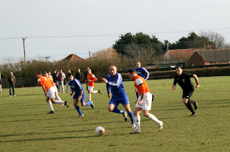 Photo: 16/02/13 v Great Massingham (Norfolk Junior Cup Semi-Final) 1-0 - contributed by Martin Wray