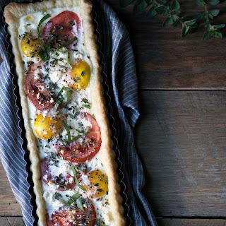 Tomato Feta Egg Tart