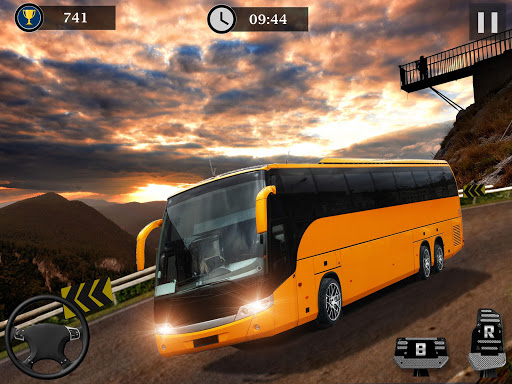 Uphill Off Road Bus Driving Simulator - Bus Games for PC