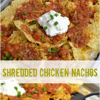 Shredded Chicken Nachos