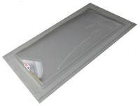 """Sun-Tek® SFMH 22"""" x 22"""" Clear Polycarbonate Surface Mount Skylight"""