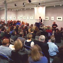 Photo: Author event in our Basil Hallward Gallery