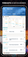 screenshot of AccuWeather: Weather forecast & live radar maps