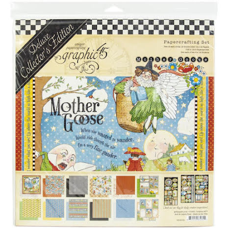 Graphic 45 Deluxe Collectors Edition Pack 12X12 - Mother Goose