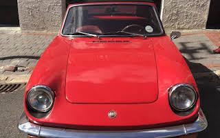 Fiat Sport Spider Rent Western Cape