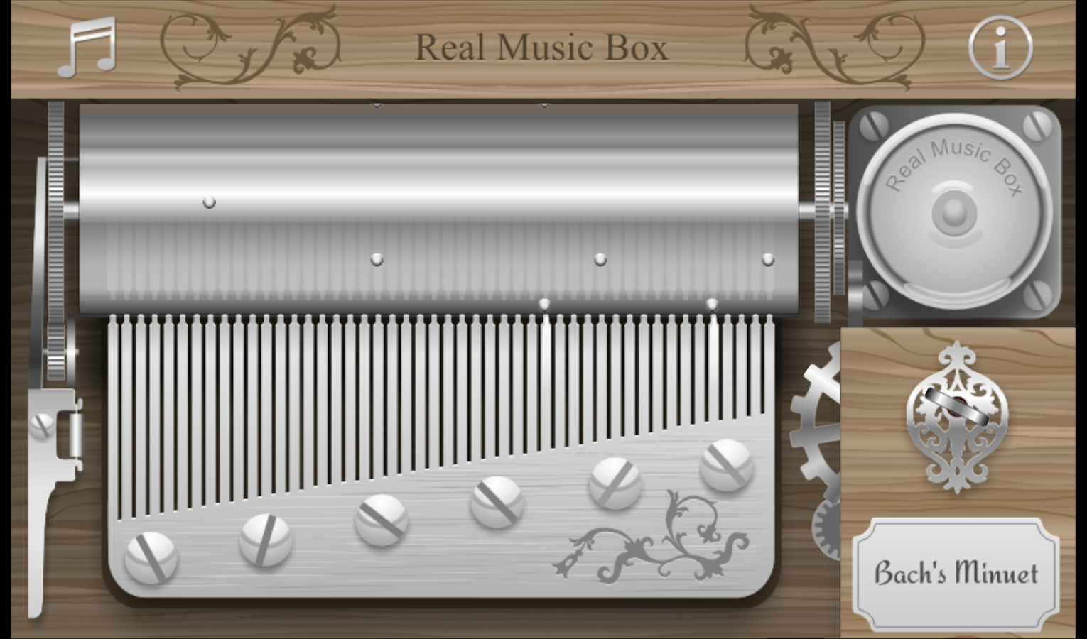 Real Music Box- screenshot