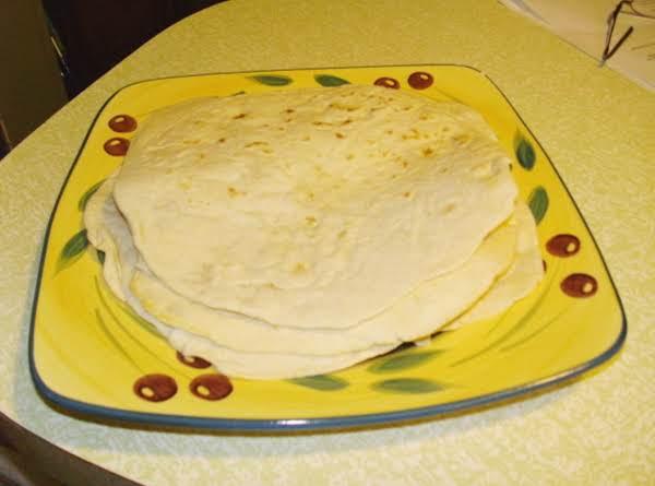 Easy Flour Tortillas image