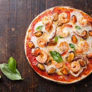 Copycat Seafood Pizza.