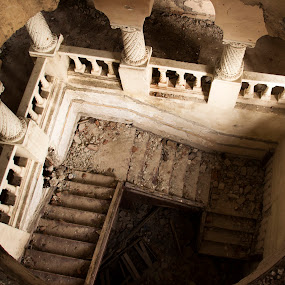 Above the old stairs by Alin Gavriluta - Buildings & Architecture Decaying & Abandoned (  )