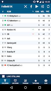 Fodbold DK- screenshot thumbnail