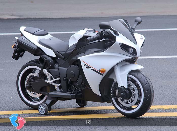 Xe mô tô điện thể thao cho trẻ R1 12