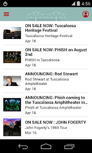 Tuscaloosa Amphitheater- screenshot thumbnail