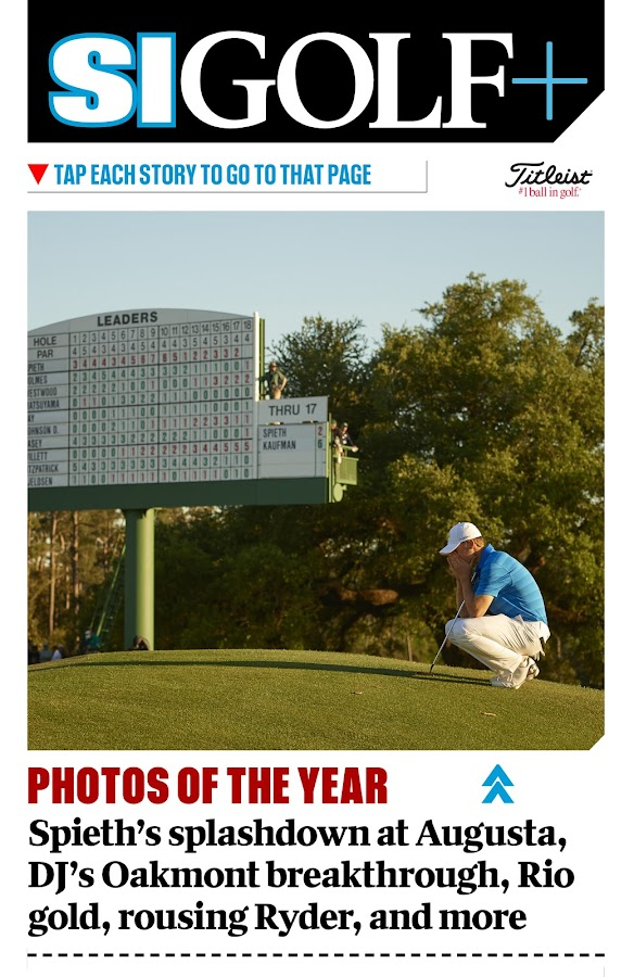 SI Golf+ Digital- screenshot