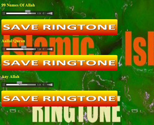 77 Mp3 Ringtone Islami