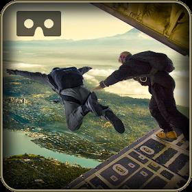 Военные США парашютом VR