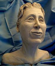 "Photo: Esta Bust - 16"" tall- hi fire ceramic clay"