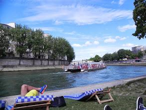 Photo: Tout au bout de Paris plage...