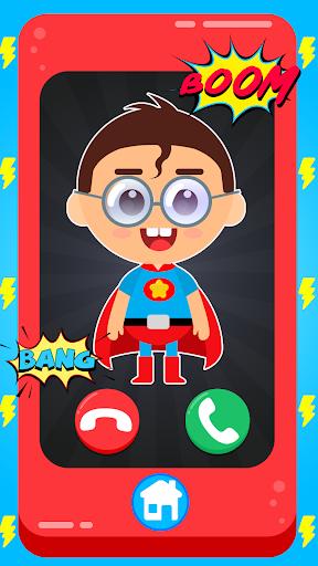Baby Superhero Phone apktram screenshots 1
