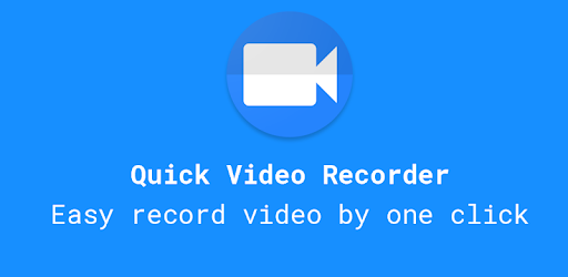 Easy record video by one click. Continuous recording when your screen is off.