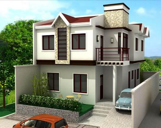 3d home exterior design is a different way for architects to design ...
