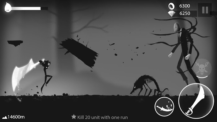 Stickman Run Shadow Adventure MOD Apk