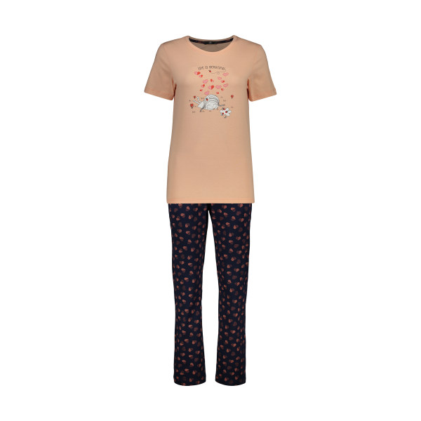 ست تی شرت و شلوار زنانه جامه پوش آرا مدل 4032019304-8059