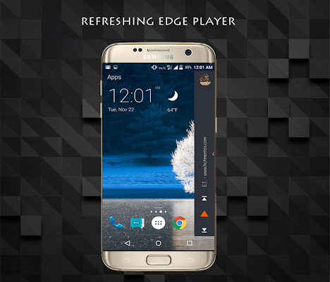 Edge Screen Music player - screenshot