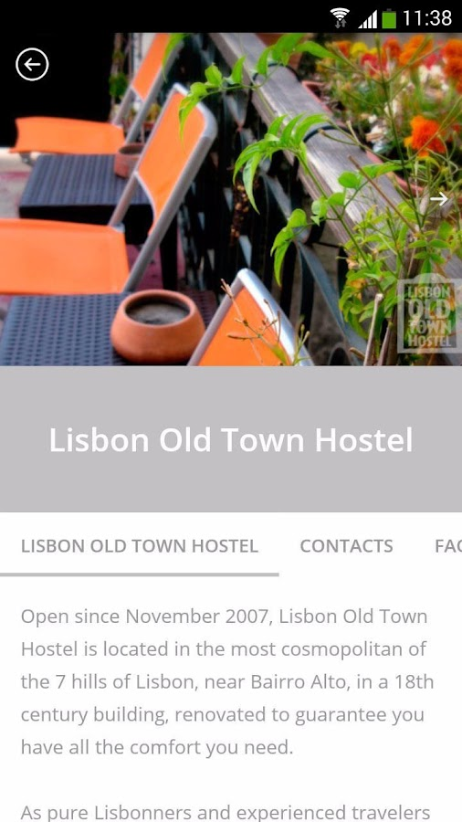 Lisbon Old Town Hostel- screenshot