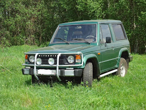 Photo: №3080. Мицубиси Паджеро (Кострома). Внедорожник, зеленый металлик, состояние отличное, 1987 г.