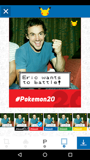 Pokémon Photo Booth screenshot 3