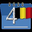 Kalender 2017 België Vakantie icon