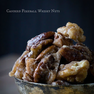 Candied Fireball Whisky Nuts.