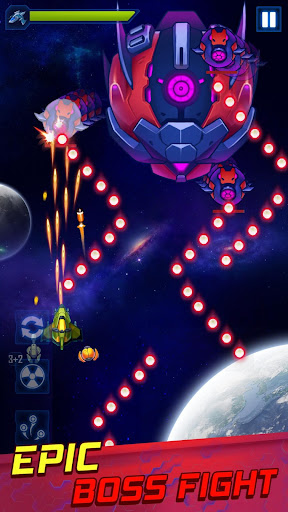 Wind Wings: Space Shooter - Galaxy Attack screenshots 8