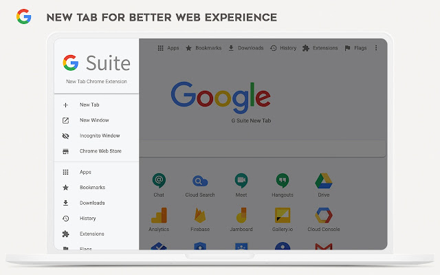 G Suite New Tab - Powerful Dashboard