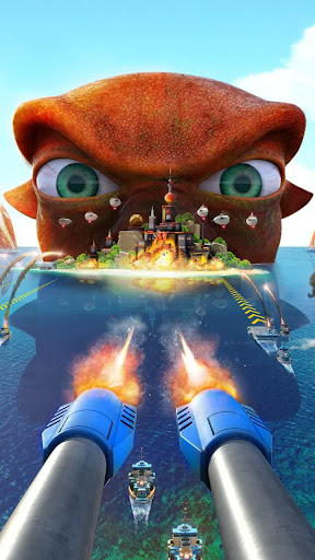 Télécharger Sea Game: Mega Carrier APK MOD (Astuce) screenshots 3