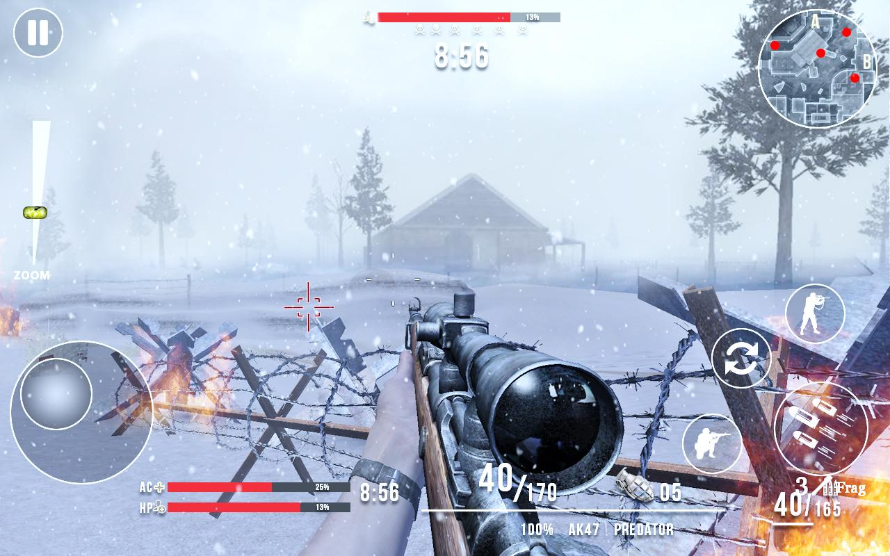 Call of Sniper ww2 Mod Apk (Unlimited Money) 2