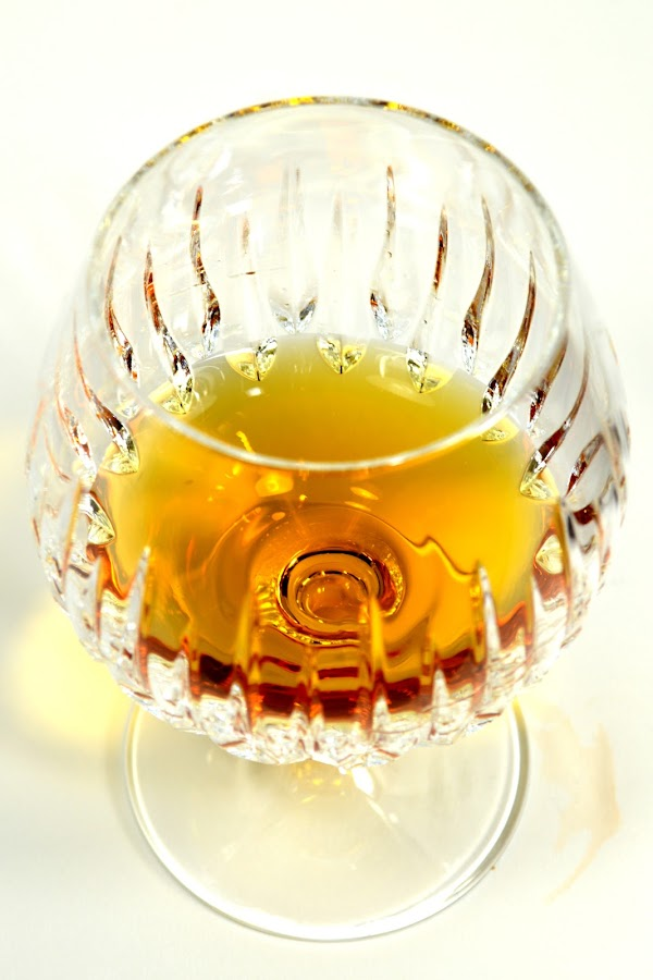 Glass of Grand Marnier 2 by John Ogden - Food & Drink Alcohol & Drinks ( alcohol, booze, cognac, grand marnier, snifter )
