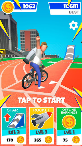 Bike Hop: Be a Crazy BMX Rider! apkpoly screenshots 1