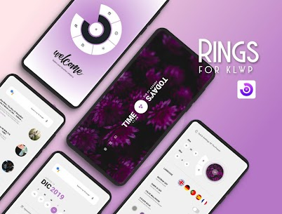 Rings for KLWP v2019.Dec.22.12 APK Mod for Android 1