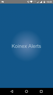 Koinex Alerts - náhled